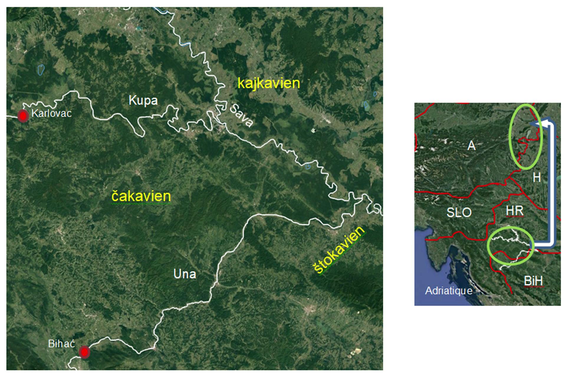 Photo région d'origine des croates du Burgenland