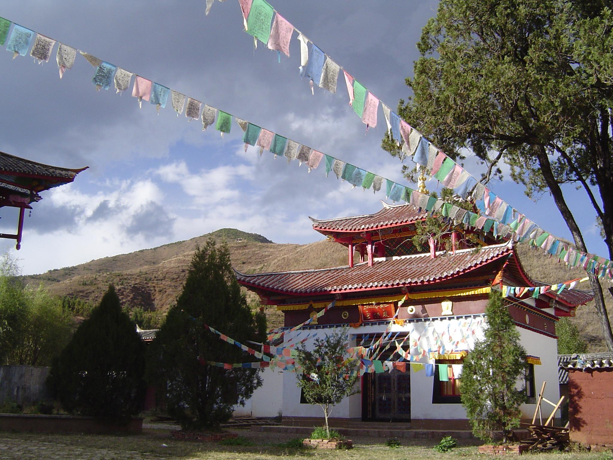 Le monastère de Yongning