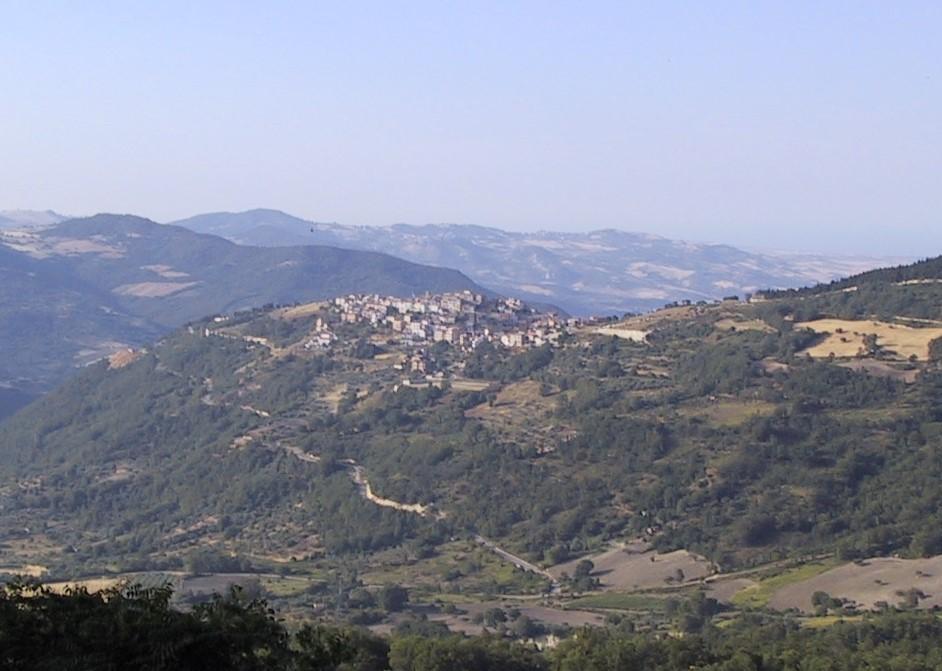 Panorama of Montemitro