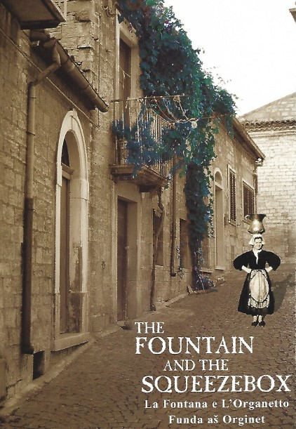 Couverture recueil de textes intitulé : The Fountain and the Squeezebox